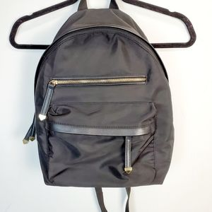 Madden Girl Black Nylon Mid Size Backpack